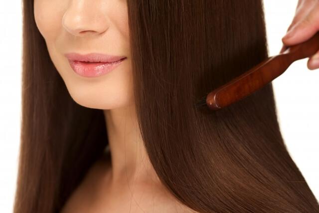 髪の毛のツヤ